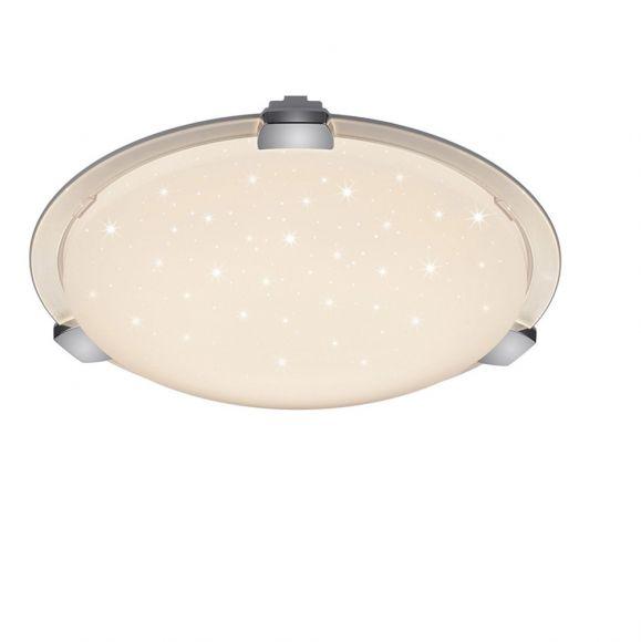LED Deckenleuchte mit Starlight Effekt - inklusive Fernbedienung