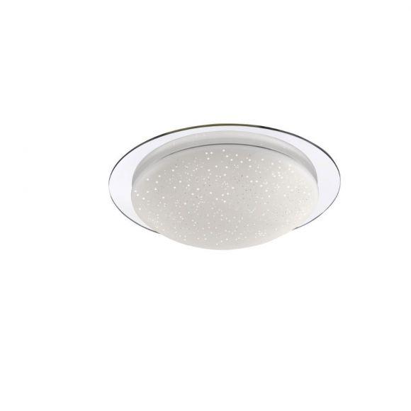 led deckenleuchte skyler mit sternenhimmel glas 30cm 1x 8 watt 30 00 cm wohnlicht. Black Bedroom Furniture Sets. Home Design Ideas