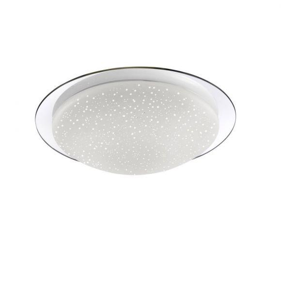 led deckenleuchte skyler mit sternenhimmel glas 38cm 1x 12 watt 38 00 cm wohnlicht. Black Bedroom Furniture Sets. Home Design Ideas