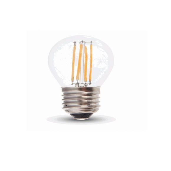 LED E27 Tropfen 4 Watt 320 Lumen 2700 Kelvin - dimmbar