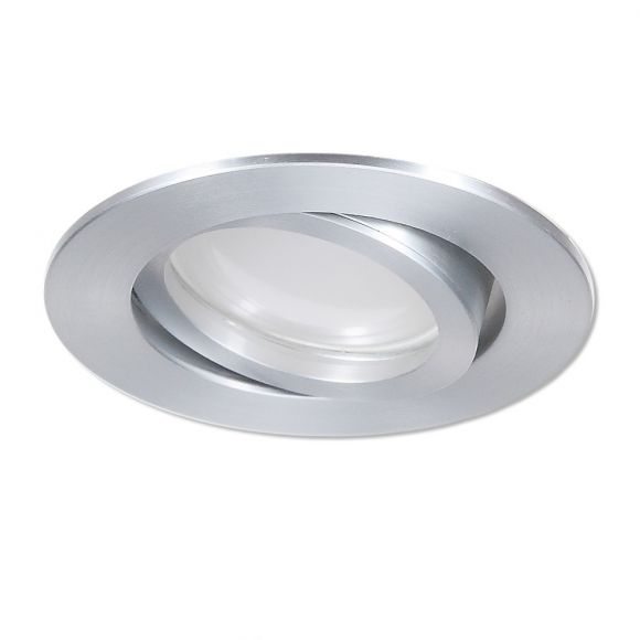 LED Einbaustrahler Aluminium rund 3-fach switchmo dimmbar