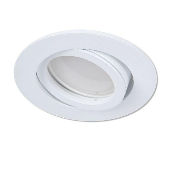 LHG LED Einbaustrahler, rund, weiß, schwenkbar, 3-fach schalterdimmfähig