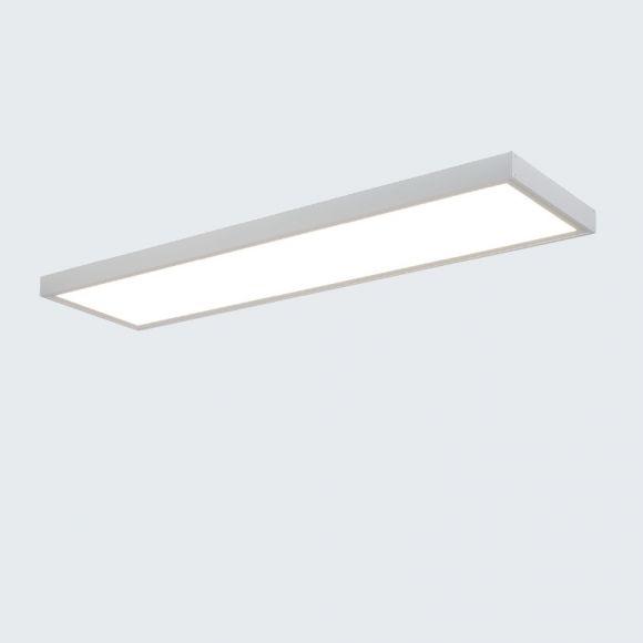 LED Einlegepanel 125x32cm, 36W, 4000K neutralweiß, mit Aufbaurahmen