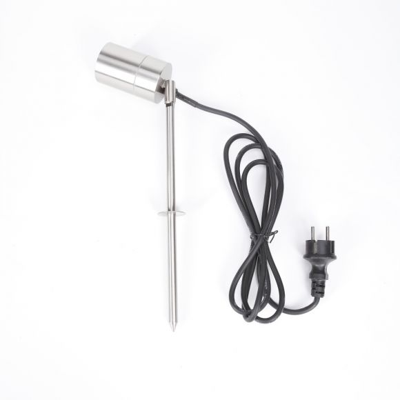 LHG LED Erdspieß Tin Edelstahl inklusive LED GU10  5W