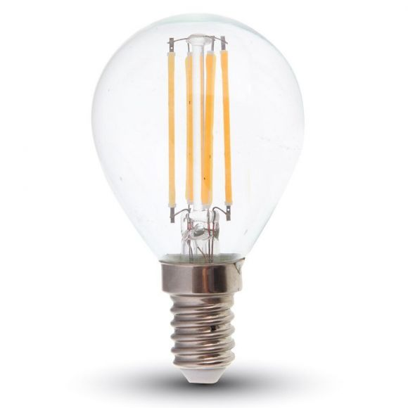 LED Filament E14 Tropfen 4 Watt 400 Lumen 2700 Kelvin