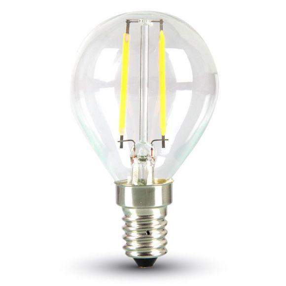 LED Filament E14 Tropfen 2 Watt 180 Lumen 2700 Kelvin