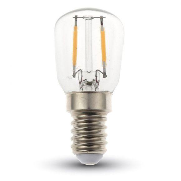 LED Filament Leuchtmittel in Birnenform E14 2 Watt 180Lumen