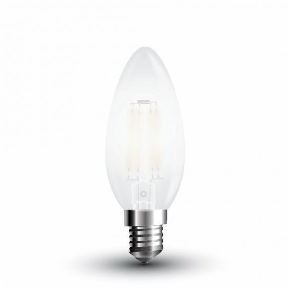 LED Filament Leuchtmittel  E14 4 W matt, 2700 Kelvin 400 Lumen