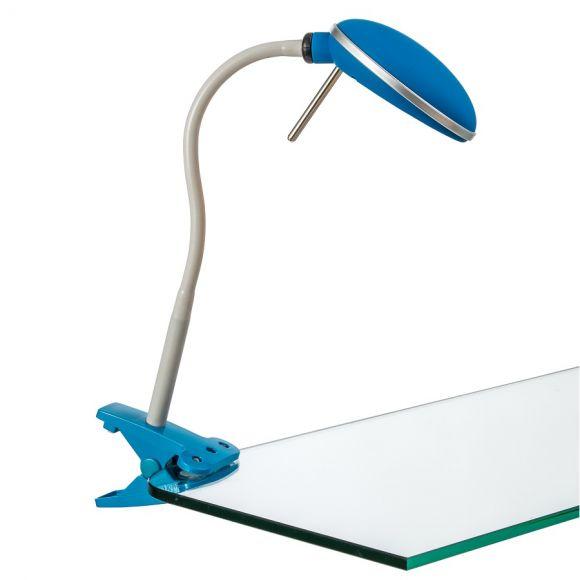LED Klemmleuchte mit Flexarm in verschiedenen Farben
