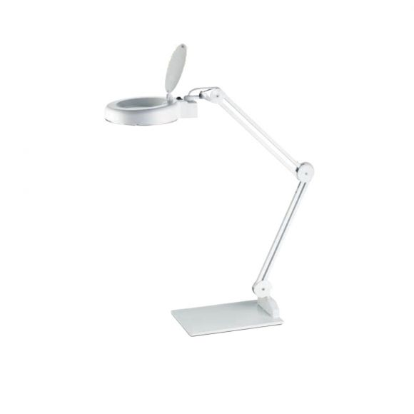 LED Lupenleuchte - 9,6W  - Weiß
