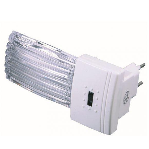 LED Nachtlicht Riffle für die Steckdose - inklusive Taschenlampe
