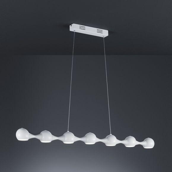 LED Pendelleuchte in Weiß 7x 5W LED 300 Lumen 3000K