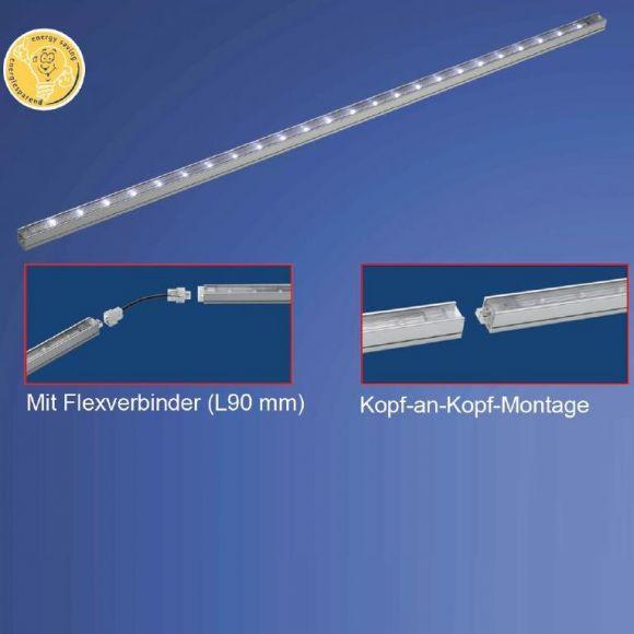 LED-Schienen-Baukastensystem,  Lichtleisten  Verlängerung