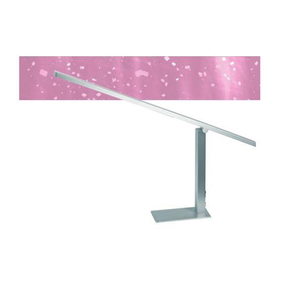 LED Schreibtischleuchte in Nickel satiniert