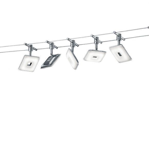 led seilsystem pontius komplett wohnlicht. Black Bedroom Furniture Sets. Home Design Ideas