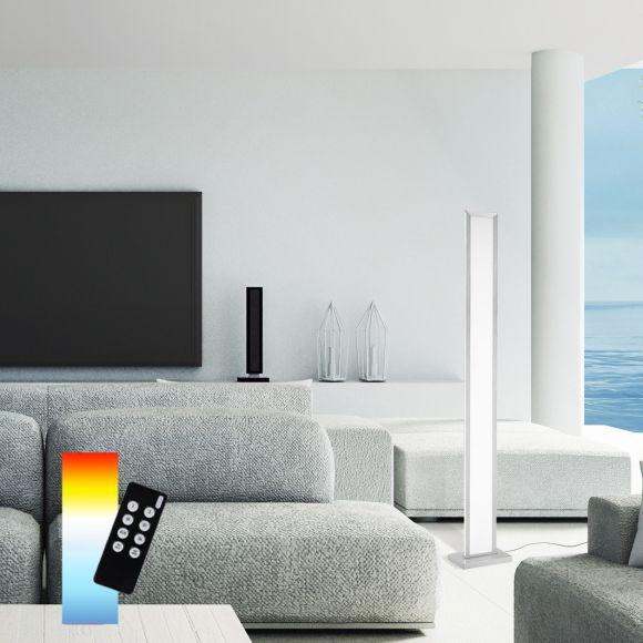 LED Standleuchte Smart HomeQ-ROSA, Fernbedienung, Dimmbar