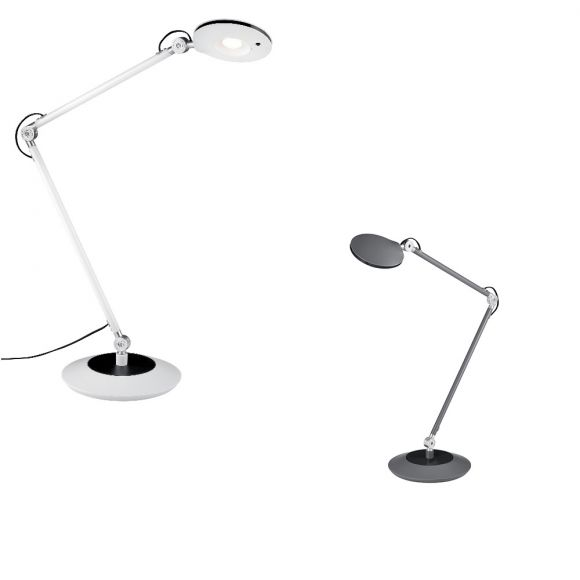 LED Tischleuchte Roderic  -  Weiß oder Anthrazit