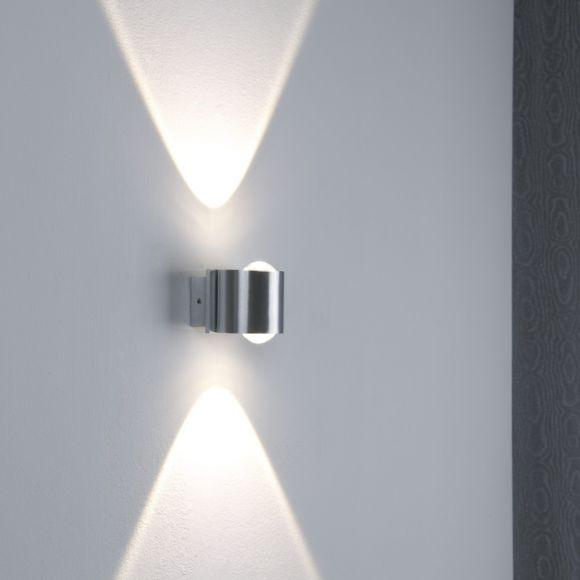 LED Wandleuchte aus Aluminium IP44