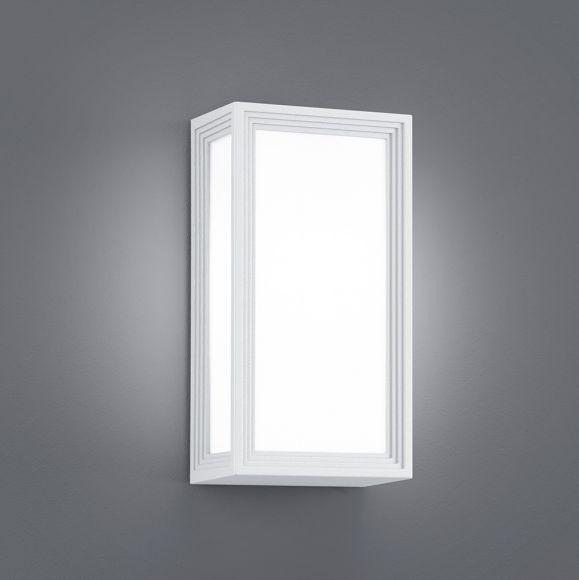LHG LED Wandleuchte für Außen - Aluminium / Kunststoff Weiß