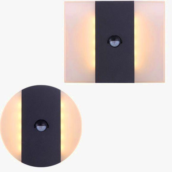 LED Wandleuchte Moonlight mit Bewegungsmelder