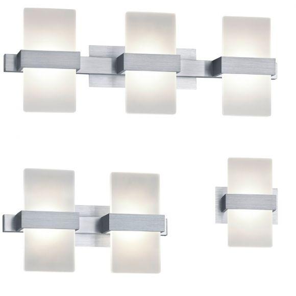 LED Wandleuchte Platon - 1-, 2- oder 3-flammig
