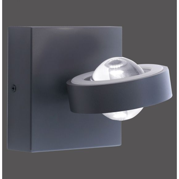 LED Wandleuchte Q-MIA, Up&Down, Fernbedienung, Smart Home, RGBW