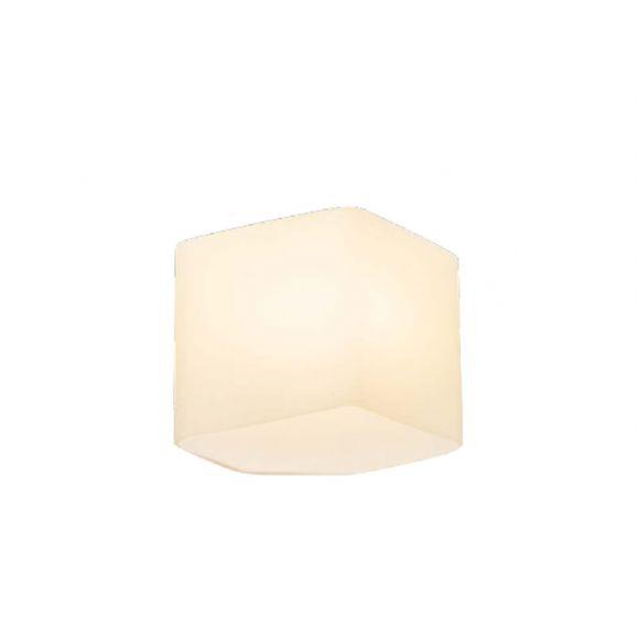 LED Wandleuchte Space in weiß aus Glas