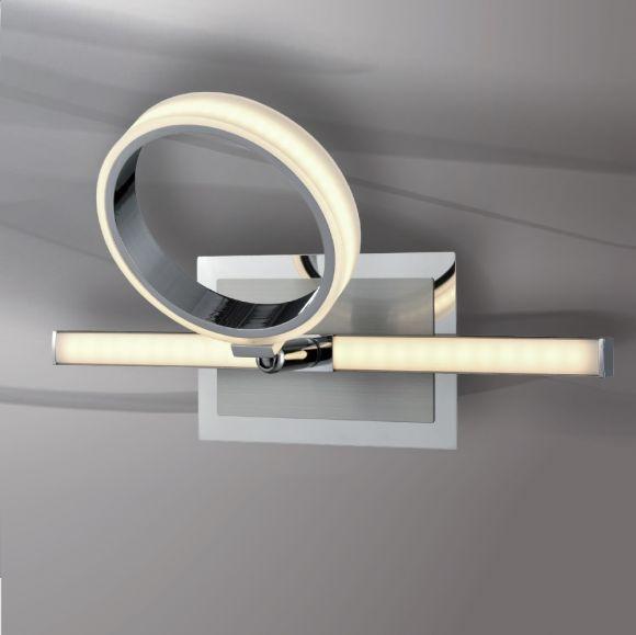 LED Wandleuchte, modern, Stufenschaltung über Wandschalter, schwenkbar