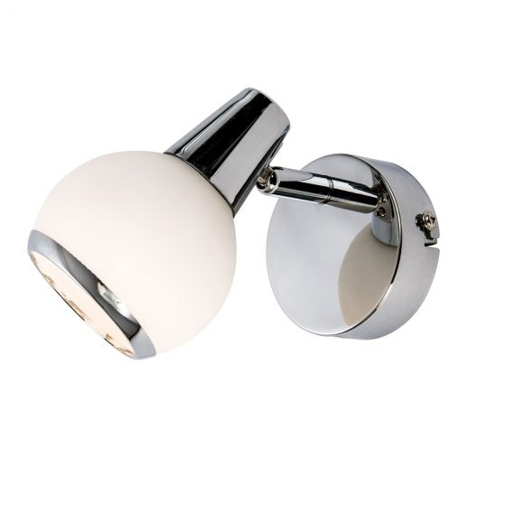 LED Wandstrahler Loris Opalglas LED 1 x 3 Watt