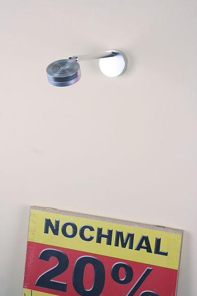 LED Werbeleuchte aus Aluminium, 1 x 9W 600Lumen,  IP54