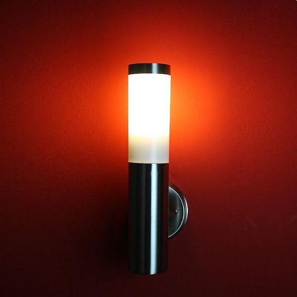 LED-Außenleuchte aus Edelstahl günstig und gut