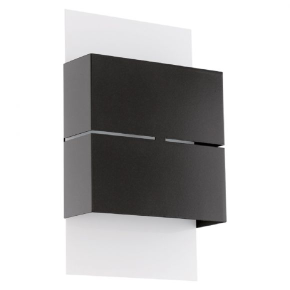 led au enwandleuchte kibea up down in anthrazit wei wohnlicht. Black Bedroom Furniture Sets. Home Design Ideas