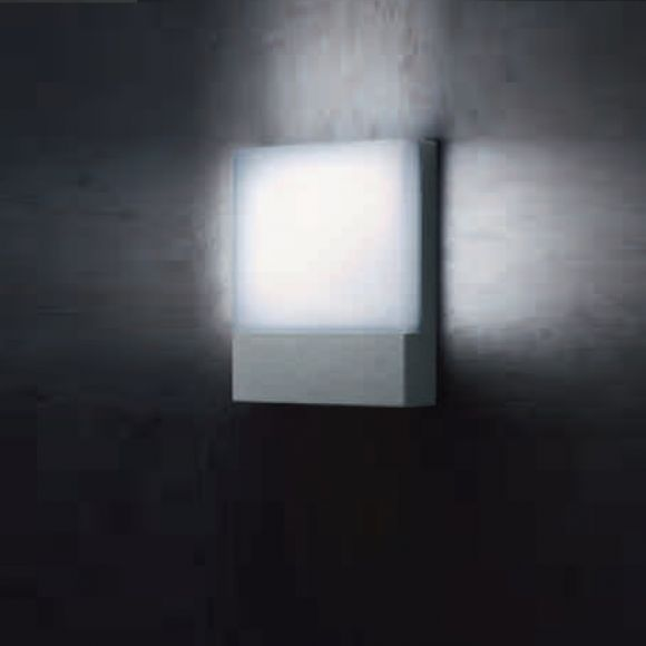 LED-Außenwandleuchte Pad - Alu-Druckguss grafit