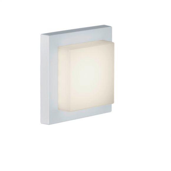 LED-Außen-Wandleuchte weiß, Inklusive LED 3,5 Watt