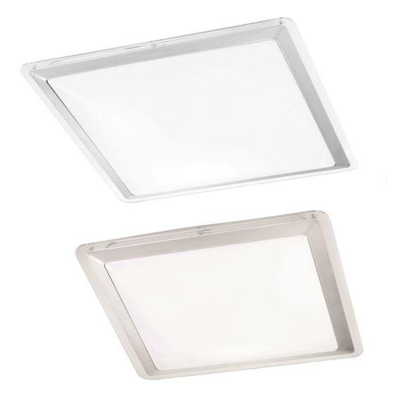 LED-Badezimmerleuchte 33x33cm, Deckenpanel 12 W, 3000K warmweiß