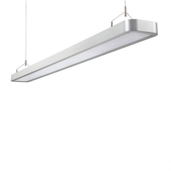 LED-Büro-Pendelleuchte - Aluminum - LED 65 Watt