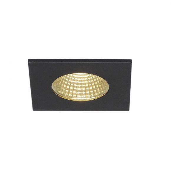 LED-Deckeneinbauleuchte Patta-I schwarz
