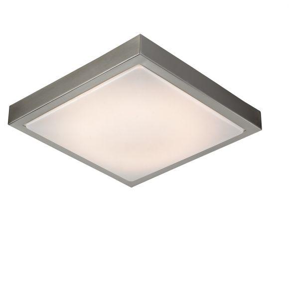 LED Deckenleuchte Aus Gebrstetem Stahl Und Acrylabdeckung