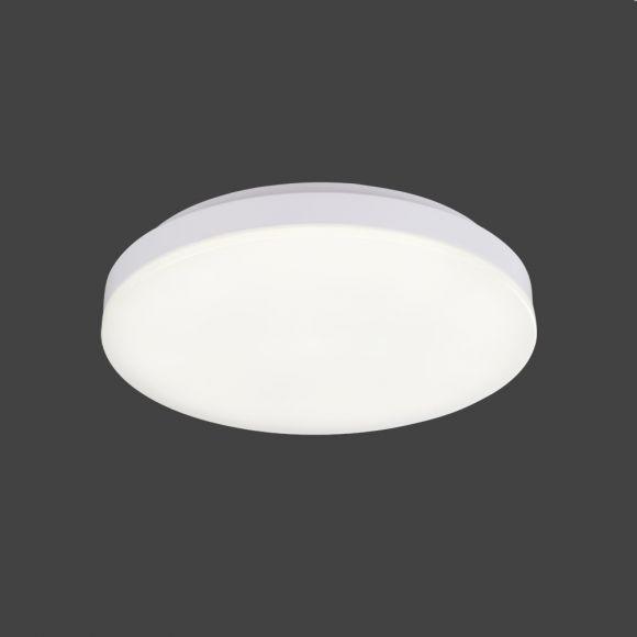 LED-Deckenleuchte mit Rand weiß und Acrylglas, 2 Größen