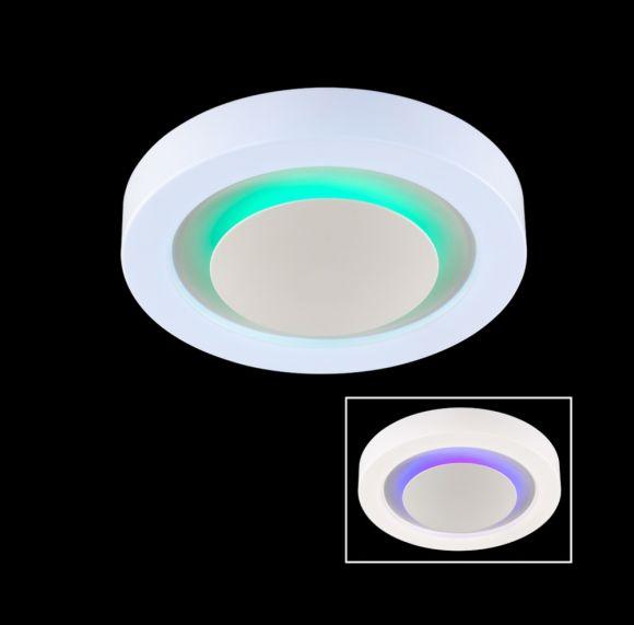 LED-Deckenleuchte mit RGB-Farbwechsel in 2 Größen