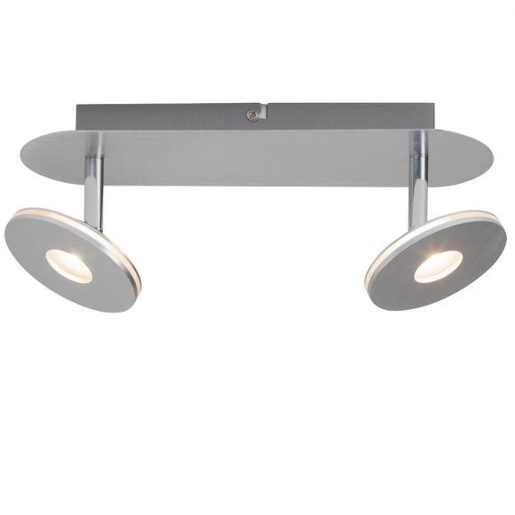 LED-Deckenleuchte mit 2 beweglichen Spots