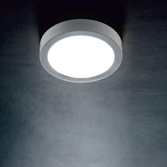 LED-Deckenleuchte Reno mit Rand weiß Acryl , 3 Größen