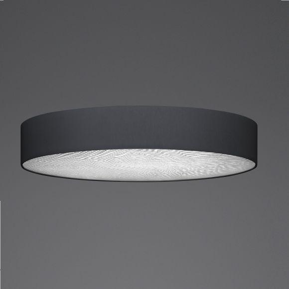 LED-Deckenleuchte schiefer mit 3D Folie, 3 Größen, dimmbar
