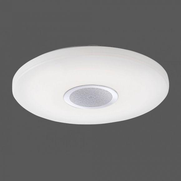 LED Deckenleuchte Pelvo mit Lautsprecher dimmbar