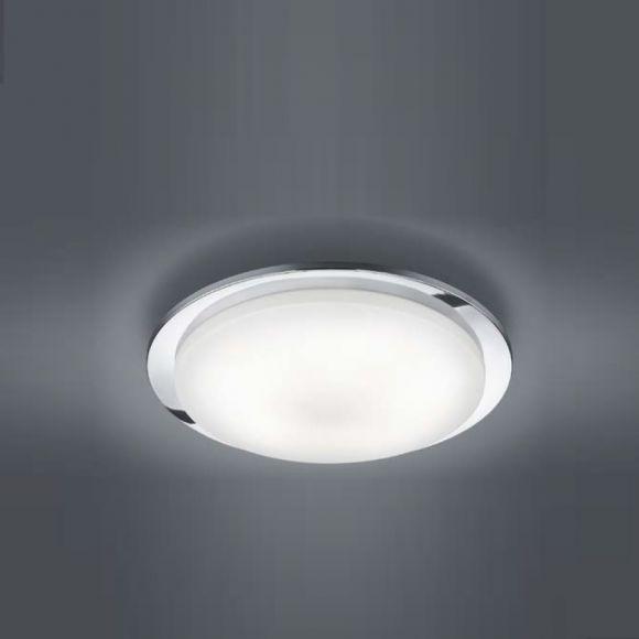 LED-Deckenleuchte  inklusive 5 x4,5 Watt LED, warmweiß 3000K, Leuchte in Chrom + Extra 1x GU10 LED Leuchtmittel zur freien Nutzung