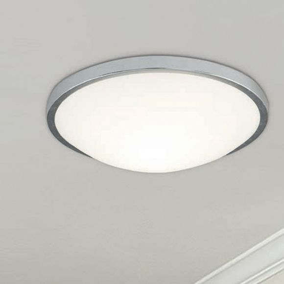 LED-Deckenleuchte, Wand- o. Deckenmontage, Silber, D=21 o. 31 o. 41cm