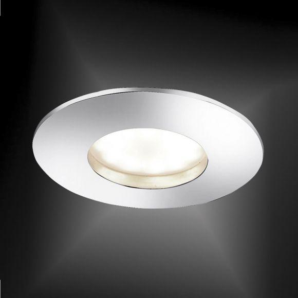 LED-Einbaustrahler in Chrom - 5,5W LED - 4-stufig dimmbar