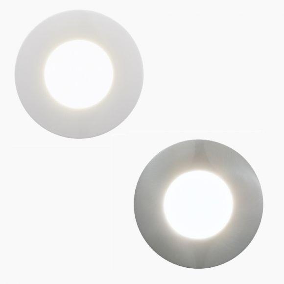 LED-Einbaustrahler Margo Ø8,4cm, 1x 5Watt LED, 2 Farben