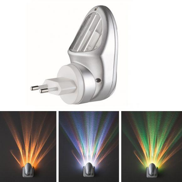 LED-Nachtlicht mit beeindruckenden Lichteffekten und individuellem Farbwechsel