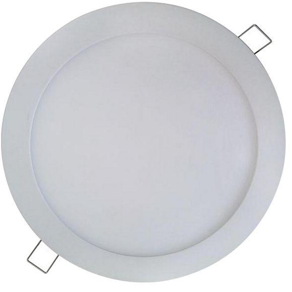 LED-Panel weiß, Ø 24 cm, LED 18 W - Warmweiß oder Neutralweiß